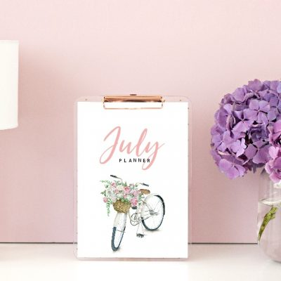 Free July Planner and Bullet Journal: 15 Beautiful Pages!