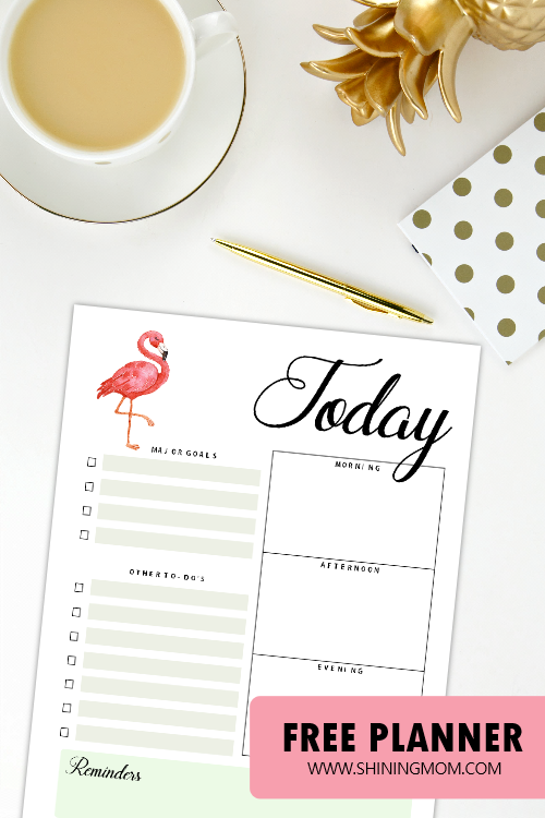 Free Printable August Bullet Journal and Planner: So Beautiful!