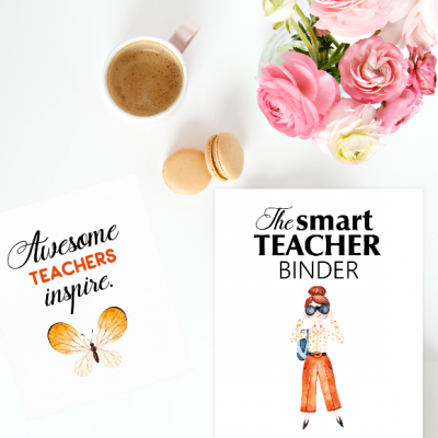 FREE Printable Teacher Binder: 60+ Outstanding Organizers!