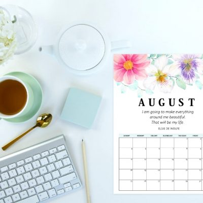 6 August Calendar Printables to Keep Your Schedule Organized!