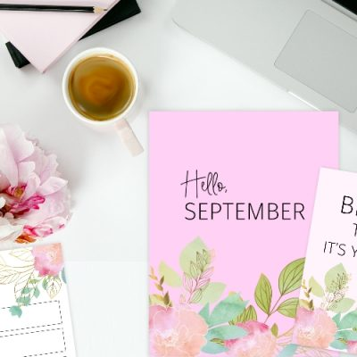 Free Printable September Bullet Journal and Planner
