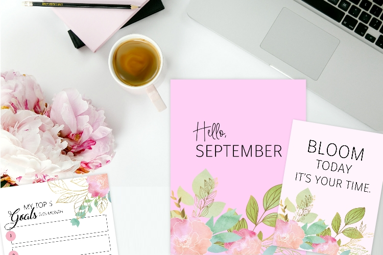 picture about Come Inside It's Fun Inside Free Printable named Totally free Printable September Bullet Magazine and Planner