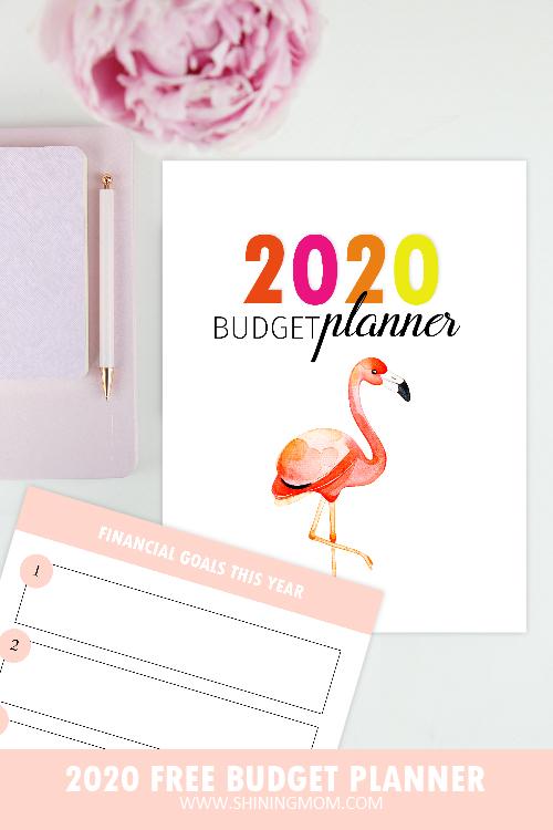 budget planner 2020