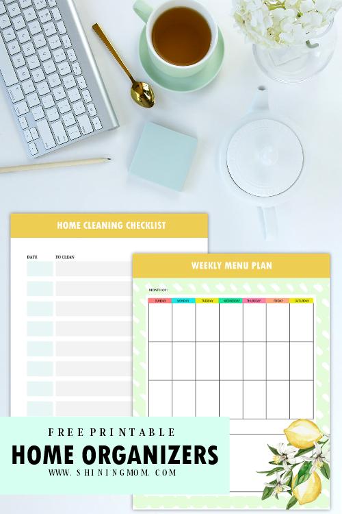 home planner printable