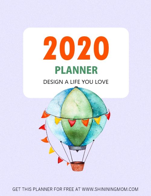 free 2020 planner printable free