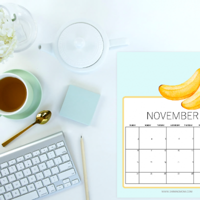 Free Printable November 2019 Calendar: 16 Lovely Styles!