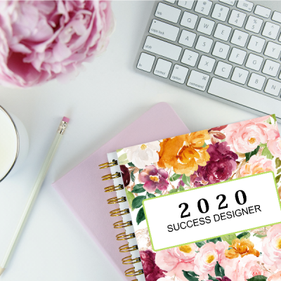 The 2020 Success Designer: The Ultimate Productivity Planner!