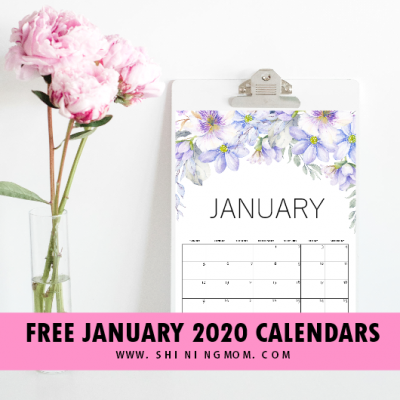 Get Your Free January 2020 Calendar: Set Your Goals and Start the Year Right!