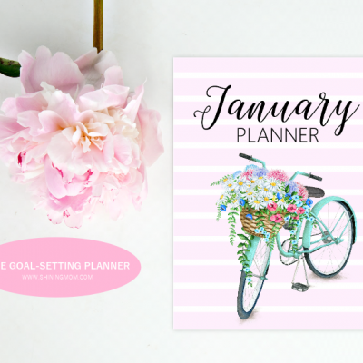 Free Printable January 2020 Planner for Goal Setting!