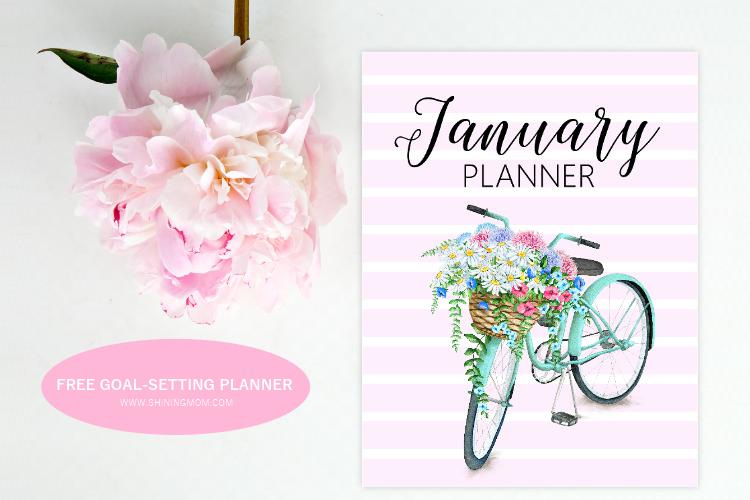 Free Printable January 2020 Planner for Goal Setting!