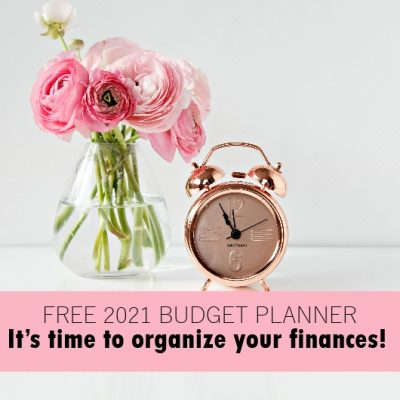 Free Budget Planner to Use in 2021!