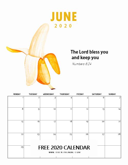 Bible Verse Calendar 2020