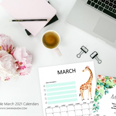 Print Your March 2021 Calendar {Free Download}!