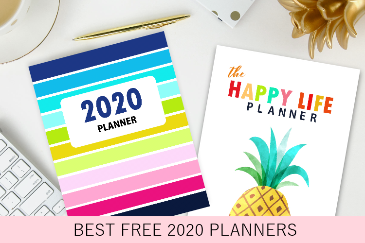 50 Best 2020 Planners in PDF to Print: All Free & Pretty!