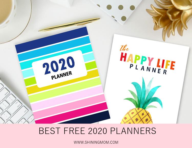 best 2020 planner pdf