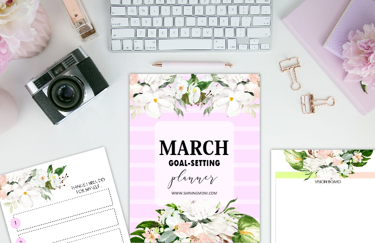 free printable March planner