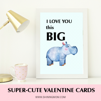 FREE Printable Valentine Cards: 10+ Super-Cute Designs!