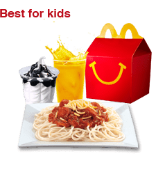 McDonalds Party Packages