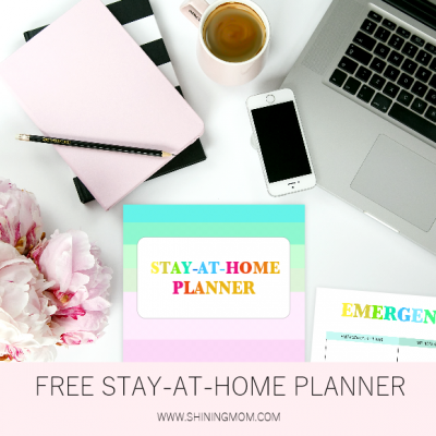 Free Printable Stay-at-Home Planner: Live More Intentionally!