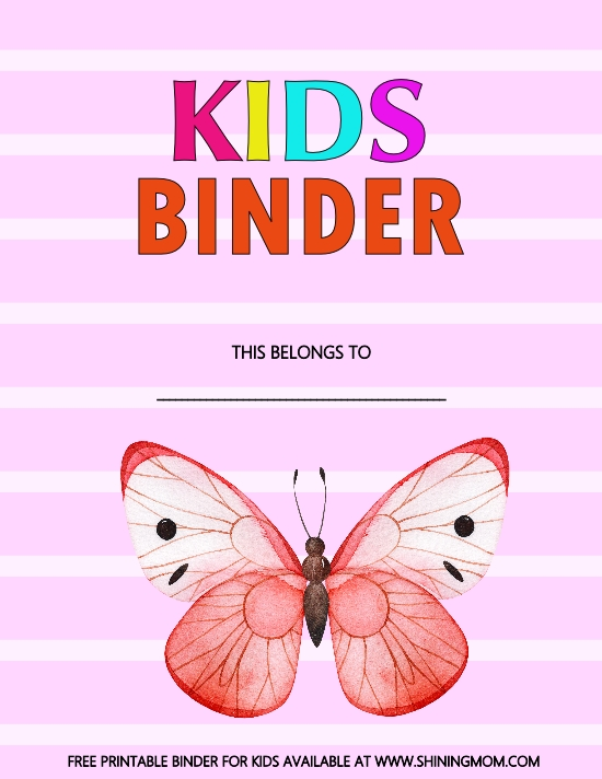 pdf planner for kids