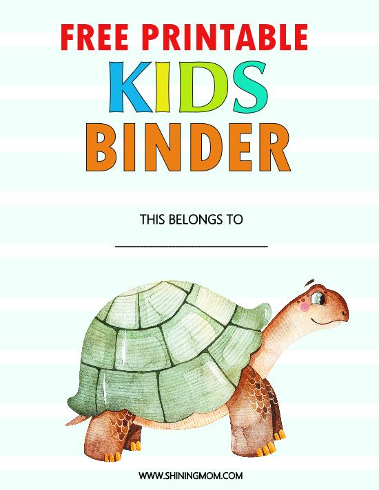 kids binder