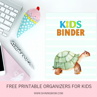 Kids Binder: 40 Free Printable PDF Planners for Kids