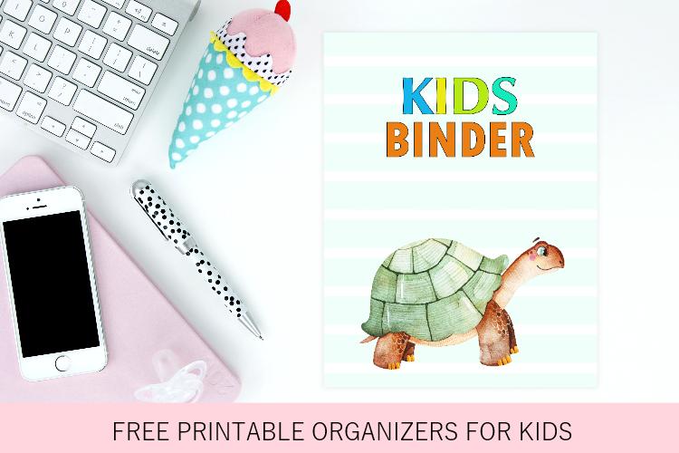 Kids Binder: 40 Free Printable PDF Planners for Kids