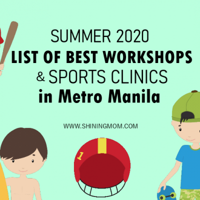 Your Guide: A Roundup of 2020 Summer Workshops for Kids in Metro Manila