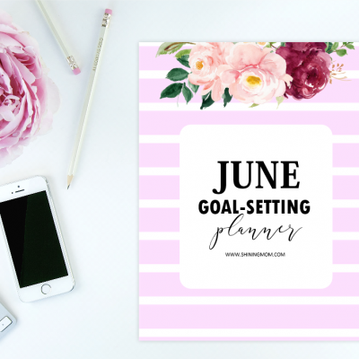 Free Printable June Goal-Setting Planner: So Pretty!