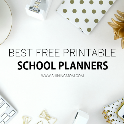 Top 30 School Planners for Students for SY 2020-2021