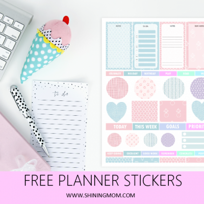 Free Printable Planner Stickers in Cute Patterns!