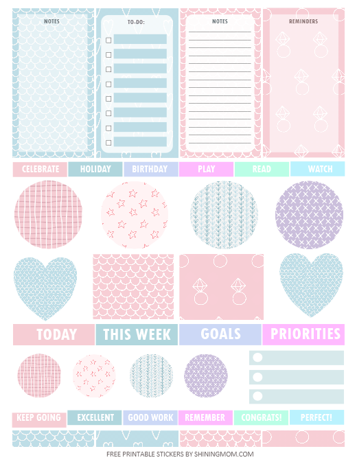 printable planner sticker