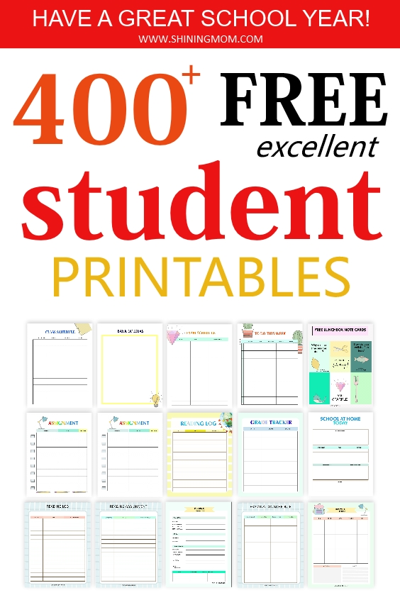 student free printables