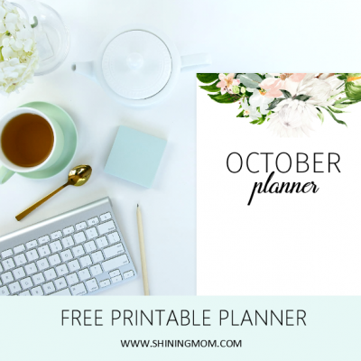 A Free Printable Planner to Organize Your October