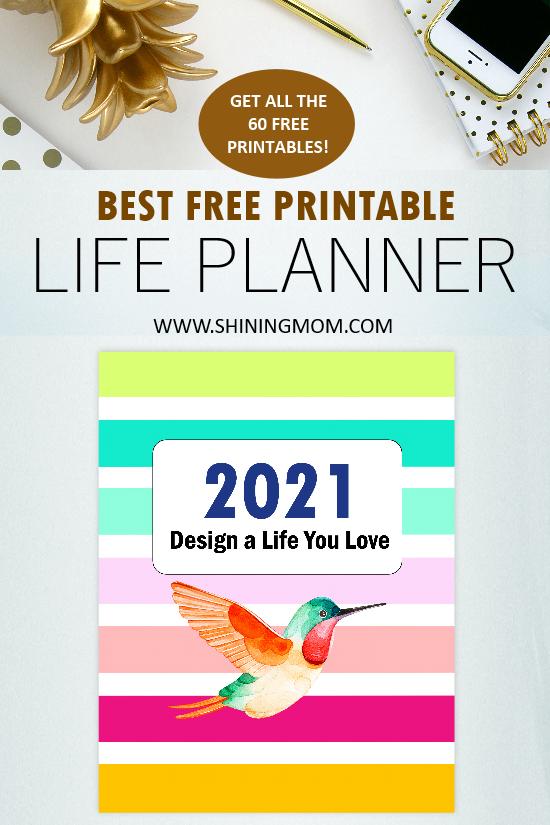 best 2021 planner printable free
