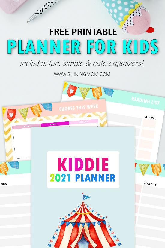 planner for kids 2021