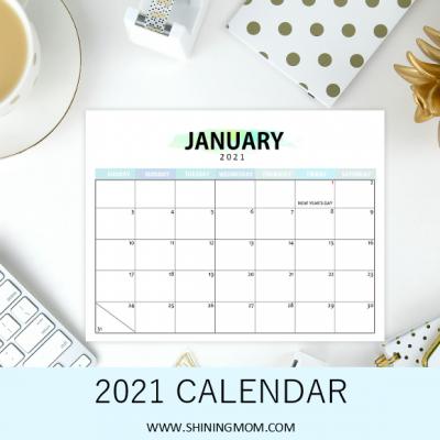 FREE Philippine Calendar 2021 with Holidays