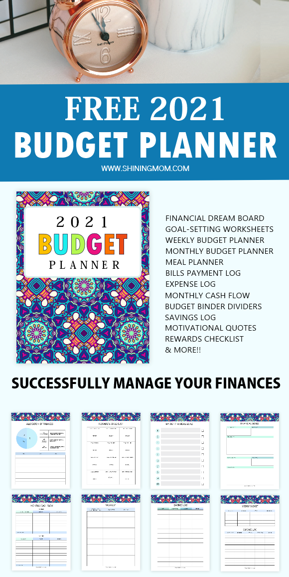 Budget Planner 2021 Printable Free