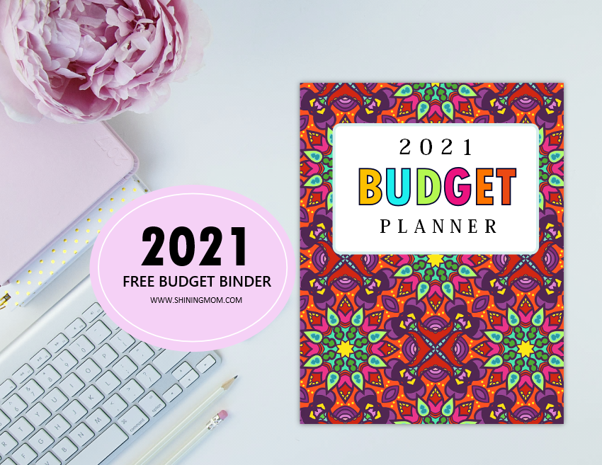 free printable budget planner 2021