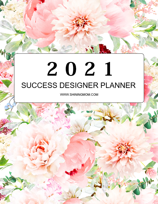 2021 printable planner PDF