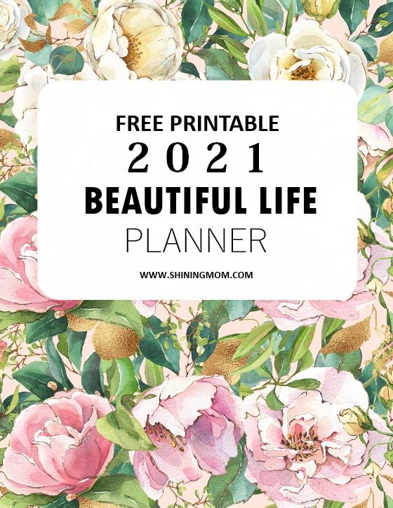 planner 2021 printable free