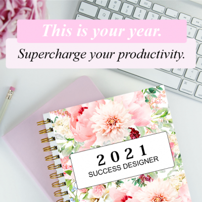 The 2021 Success Designer Planner: The Ultimate Goal-Setting Planner!