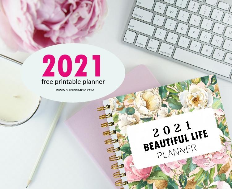 free printable planner 2021