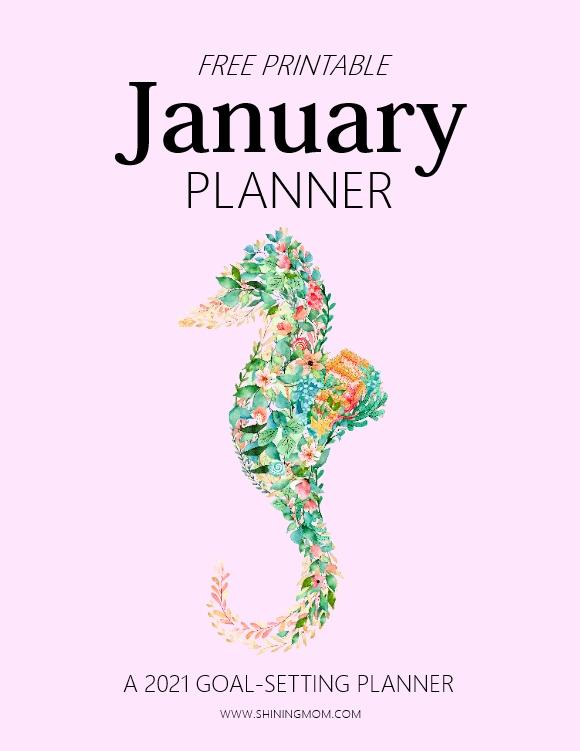 January Goal-Setting Planner 2021 Free Printable