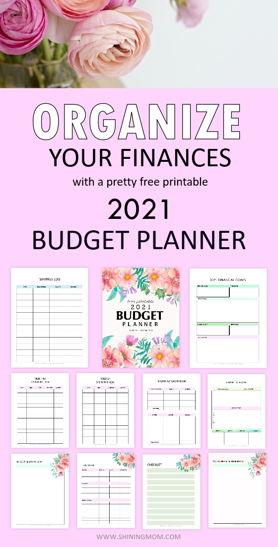 free 2021 budget planners