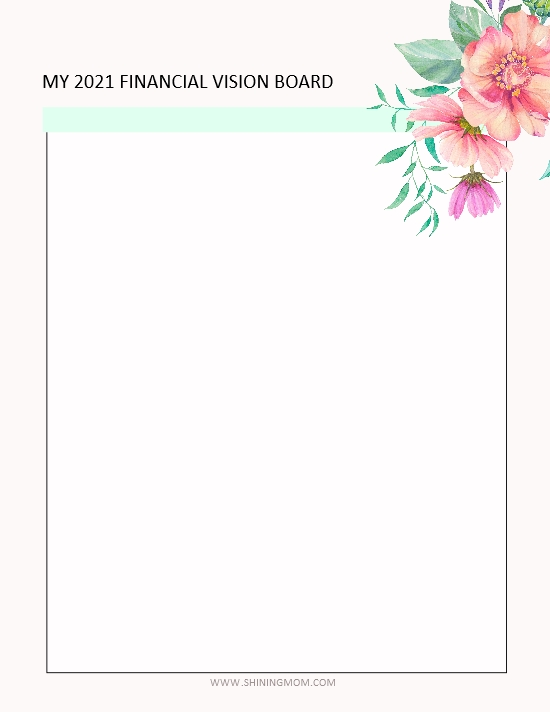 vision board printables