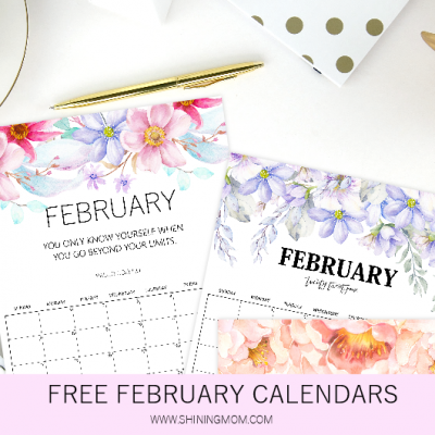 Download Your Free February Calendar!