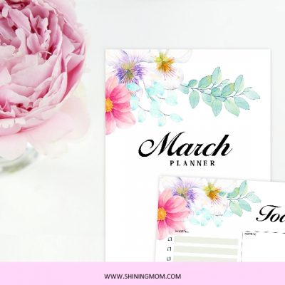 Have a Productive Month with our Free March Planner!
