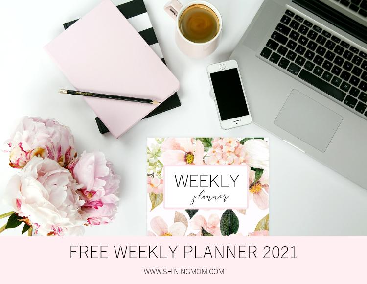 free printable weekly planner pdf