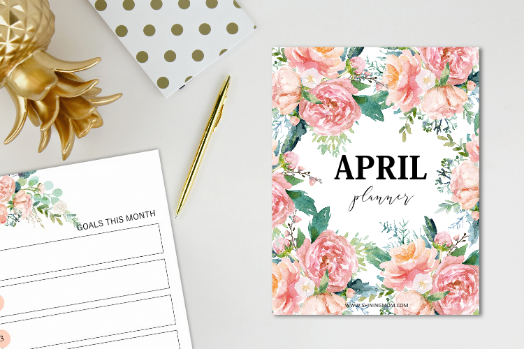 Your April Planner is Here!